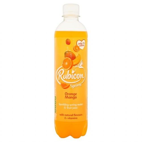 Rubicon Spring Orange Mango Flavoured Sparkling Spring Water  (UK)